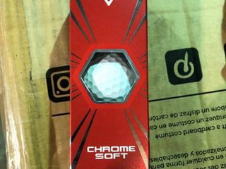 Callaway Chrome Soft   3 pack