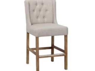 lark Manor Sixtine Bar   Counter Stool Seat Height  Bar Stool 30  GREY RETAIl  169