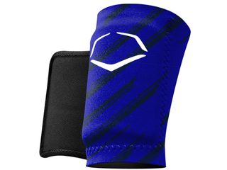EvoShield MlB Protective Speed Stripe Wrist Guard  Royal  X large