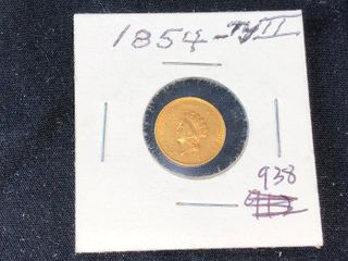 1854 Type II  1 Gold  x1
