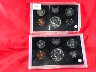 1968   1979 Proof Sets  x2