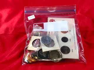 Bag of Tokens   Foreign Coins  x1