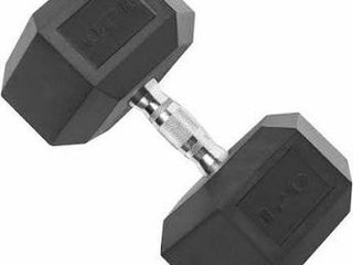 CAP BARBEll RUBBER COATED 55 KG