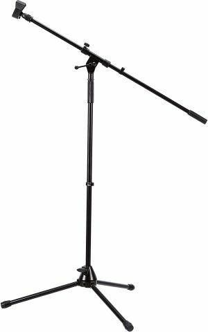 TRIPOD MIC STAND WITH BOOM  3   5 6 FT