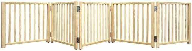 1 BROKEN PANEl FOUR PAWS SMART FOlDING GATE