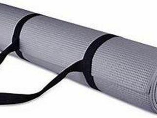 BAlANCEFROM GOYOGA EXERCISE MAT  GREY  172 X 61 CM