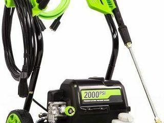 GREENWORKS 2000PSI ElECTRIC PRESSURE WASHER