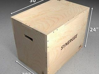 SYNERGEE 3 IN 1 WOODEN PYlO BOX FOR JUMP TRAINING