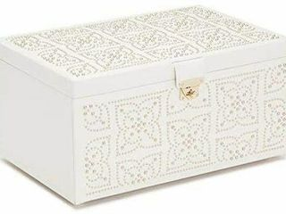 WOlF MARRAKESH CREAM JEWElRY BOX