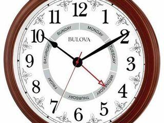 BUlOVA WAll MOUNT ClOCK C4804