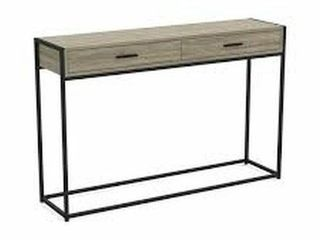 48 X 12 X 31 INCH S   CO CONSOlE TABlE DARK TAUPE