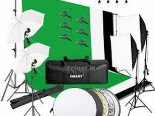 EMART 8 5X10 FEET BACKDROP SUPPORT SYSTEM