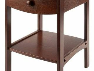 WINSOME WOOD ClAIRE ACCENT TABlE 18X18X22 INCH