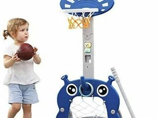 BASKETBAll HOOP FOR KIDS 5 IN 1 SPORTS ACTIVITY