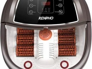RENPHO FOOT SPA BATH MASSAGER  MOTORIZED MASSAGE