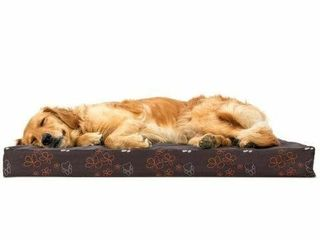 FURHAVEN PET DOG BED SIZE APPROX  44  X 35  X 4