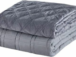 JOllYVOGUE 20 lBS WEIGHTED BlANKET WITH COVER