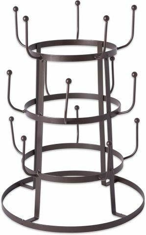 DII HOME TRADITIONS 3 TIER WIRE TREE STAND
