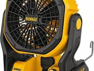 DEWAlT 20V MAX CORDlESS FAN FOR JOBSITE  11 INCH