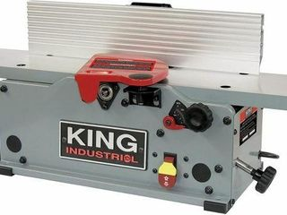 KING 6  BENCHTOP JOINTER WITH HElICAl CUTTER HEAD