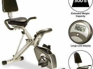 EXERPEUTIC 1110 FOlDABlE EXERCISE BIKE