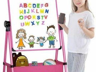 ADJUSTABlE DOUBlE SIDED KIDS ART EASEl