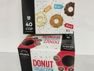 80 KEURIG K CUP PODS DONUT COllECTION VARIETY