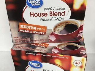96 PODS GREAT VAlUE MEDIUM ROAST HOUSE COFFEE