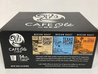 54CT CAFE OlE MEDIUM ROAST COFFEE