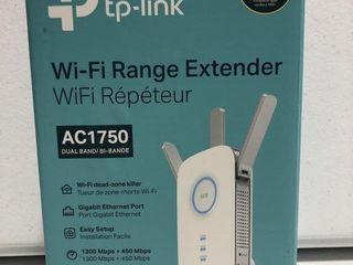 TP lINK WI FI RANGE EXTENDER AC1750