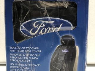 FORD SIDElESS SEAT COVER WITH HEAD RESST COVER