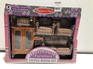 MElISSA   DOUG DOll HOUSE lIVING ROOM