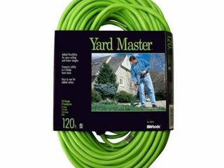 YARD MASTER FOOT EXTENSION CORD SIZE 120