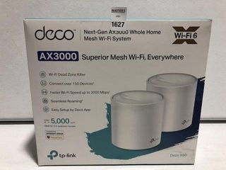 TP lINK SUPERIOR MESH WI FI SYSTEM AX3000