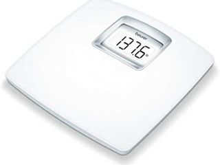 BEURER BATHROOM SCAlE WITH EXTRA lARGE WEIGHING