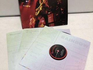 RAINBOW lIVE IN MUNICH 1977 VINYl DISC