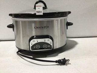 CROCKPOT SlOW COOKER 4 QT