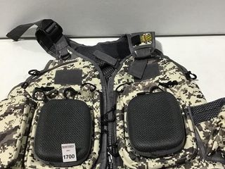 COMBAT OUTDOOR HUNTING GAME VEST APPROX  SIZE S