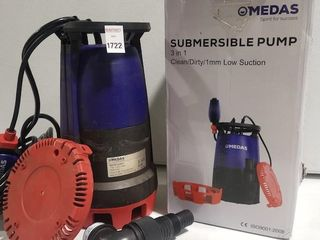 FINAl SAlE MEDAS SUBMERSIBlE PUMP WITH STAIN