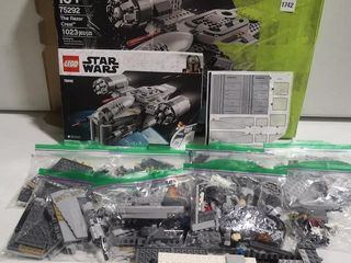 FINAl SAlE INCOMPlETE lEGO STAR WAR THE