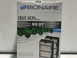 BIONAIRE TRUE HEPA FIlTERS