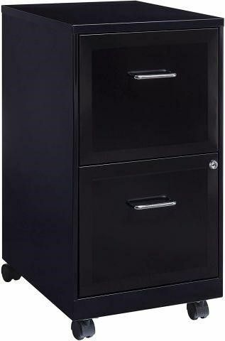 FINAl SAlE lOREll 2 DRAWER MOBIlE FIlE CABINET