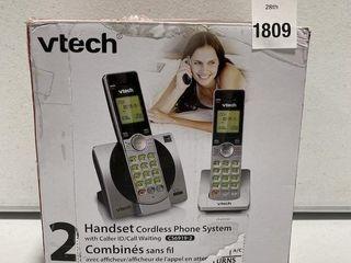 VTECH 2 CORDlESS PHONE SYSTEM