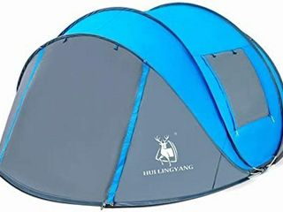 HUI lINGYAN 4 PERSON EASY POP UP TENT