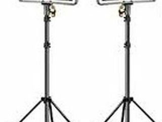 NEEWER BI COlOR 480 lED 2 lIGHT KIT WITH STANDS