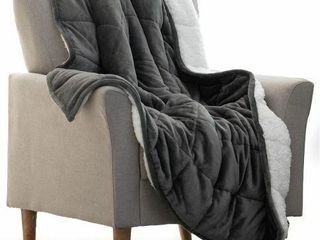 REEPOW SHERPA WEIGHTED BlANKET  TWIN OR FUll