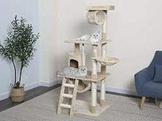 GO PET ClUB F68 62 INCH CAT TREE CONDO