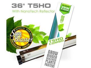 SUNBlASTER 36  T5HO 6400K WITH NANOTECH REFlECTOR