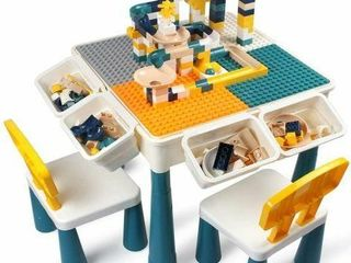 KIDS 7 IN 1 ACTIVUTY TABlE   CHAIRS