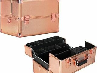 VER BEAUTY COSMETIC MAKEUP TRAIN CASE